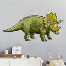 Triceratops Wall Art Sticker