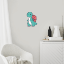 Cartoon Dinosaur Wall Art Sticker
