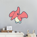 Flying Dinosaur Wall Art Sticker