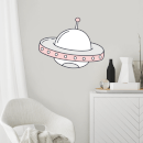 UFO Wall Art Sticker