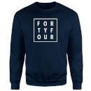 How Ridiculous Forty Four Square Sweatshirt - Navy