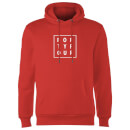 How Ridiculous Forty Four Square Hoodie - Red