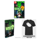 Luigi's Mansion 3 + SteelBook & Boo Glow-in-the-Dark T-Shirt Pack