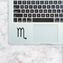 Scorpio Symbol Laptop Sticker