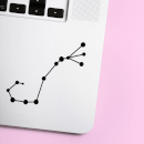 Scorpio Constellation Laptop Sticker