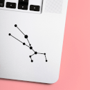 Taurus Constellation Laptop Sticker