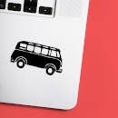 VW Van Laptop Sticker