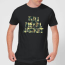 Full Metal Jacket Camo Title Men's T-Shirt - Black