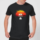 Full Metal Jacket Sunset Distressed Men's T-Shirt - Black