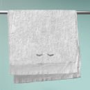 Eyelashes Embroidered Hand Towel