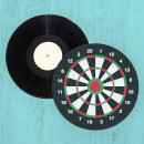 Dart Board Record Player Slip Mat