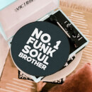 No1 Funk Soul Soul Brother Record Player Slip Mat
