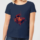 2001: A Space Odyssey 2001 Retro Space Suit Women's T-Shirt - Navy