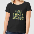 Full Metal Jacket Camo Title Women's T-Shirt - Black