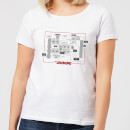 The Shining Floor Plan Women's T-Shirt - White