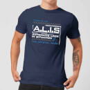 Crystal Maze A.L.I.S. Men's T-Shirt - Navy