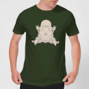 Crystal Maze Fast And Safe Crest Men's T-Shirt - Forest Green