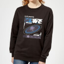 Crystal Maze Futuristic Zone Women's Sweatshirt - Black