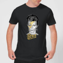 David Bowie Aladdin Sane On Black Men's T-Shirt - Black