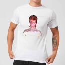 David Bowie Aladdin Sane Cover Men's T-Shirt - White