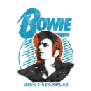 David Bowie Ziggy Stardust Orange Hair Women's T-Shirt - White