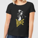 David Bowie Scream Women's T-Shirt - Black