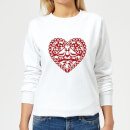 Love Birds Women's Sweatshirt - White