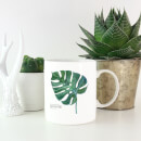 Swiss Cheese Plant Leaf Mug