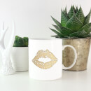 Lipstick Kiss Mark Mug