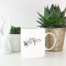 Blue Tit On Floral Branch Mug