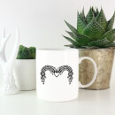 Curved Decorative Banner Mug