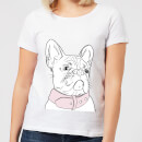 Frenchie Women's T-Shirt - White