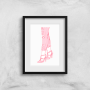 Heels And Jeans Art Print