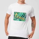 Candlelight Jungle Bush Golden Love Men's T-Shirt - White