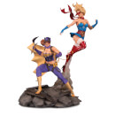 DC Collectibles DC Bombshells Batgirl & Supergirl Celebration Statue