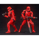 Kotobukiya Star Wars: The Rise Of Skywalker - Sith Trooper Two Pack ArtFX+ Statue