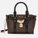 MICHAEL MICHAEL KORS Women's Nouveau Hamilton Xs Cross Body Bag - Brown/Blk