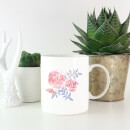 Water Colour Cockscomb Mug