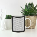 Lace Fabric Pattern Mug