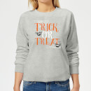 Trick Or Treat Women's Sweatshirt - Grey