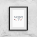 Adventure Fund Art Print