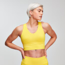 MP Women's Power Longline Sports Bra - Buttercup
