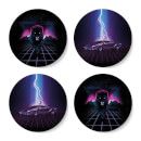 Retro Coaster Set Coaster Set