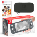 Nintendo Switch Lite (Grey) Overwatch Pack