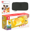 Nintendo Switch Lite (Yellow) Overwatch Pack