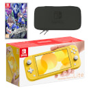 Nintendo Switch Lite (Yellow) ASTRAL CHAIN Pack