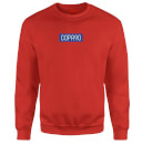 COPA90 Everyday - Red/Blue/Grey Sweatshirt - Red