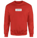 COPA90 Everyday - Red/White/Black Sweatshirt - Red
