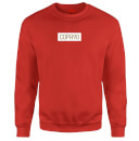 COPA90 Everyday  - Red/White/Gold Sweatshirt - Red