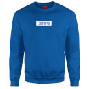 COPA90 Everyday - Royal Blue/White/Blue Sweatshirt - Royal Blue